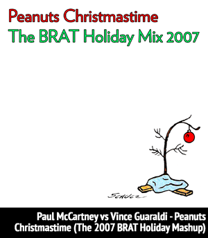 <b>Paul McCartney vs Vince Guaraldi</b> - Peanuts Christmastime -  December 2007